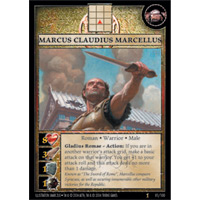 Anachronism Card Game Warrior Pack Roman Marcus Claudius Marcellus BLOWOUT SALE!