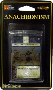 Anachronism Card Game Warrior Pack Egyptian Sqrt, the Scorpion King BLOWOUT SALE!