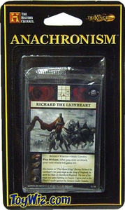 Anachronism Card Game Warrior Pack Briton Richard the Lionheart BLOWOUT SALE!