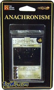 Anachronism Card Game Warrior Pack Chinese Jie the Tyrant BLOWOUT SALE!