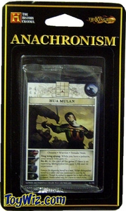 Anachronism Card Game Warrior Pack Chinese Hua Mulan BLOWOUT SALE!