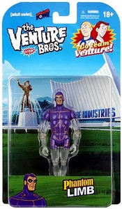 Bif Bang Pow! Venture Bros. 3 3/4 Inch Series 1 Action Figure Phantom Limb