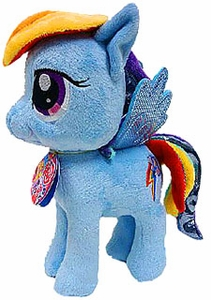 Aurora My Little Pony Friendship is Magic SMALL 6.5 Inch Plush Rainbow Dash