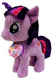 Aurora My Little Pony Friendship is Magic SMALL 6.5 Inch Plush Twilight Sparkle