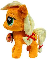 Aurora My Little Pony Friendship is Magic SMALL 6.5 Inch Plush Applejack
