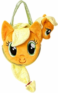 Aurora My Little Pony Friendship is Magic SMALL 6.5 Inch Plush Applejack with Purse BLOWOUT SALE!