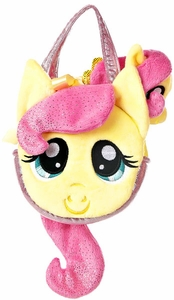 Aurora My Little Pony Friendship is Magic SMALL 6.5 Inch Plush Fluttershy with Purse BLOWOUT SALE!