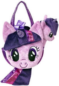 Aurora My Little Pony Friendship is Magic SMALL 6.5 Inch Plush Twilight Sparkle with Purse BLOWOUT SALE!