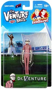 Bif Bang Pow! Venture Bros. 3 3/4 Inch Series 1 Action Figure Dr. Venture [Red Speed Suit]