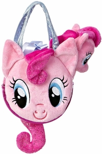 Aurora My Little Pony Friendship is Magic SMALL 6.5 Inch Plush Pinkie Pie with Purse BLOWOUT SALE!
