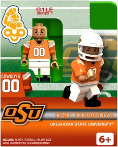 OYO College Football Building Brick Minifigure OSU Cowboys [Oklahoma State University]