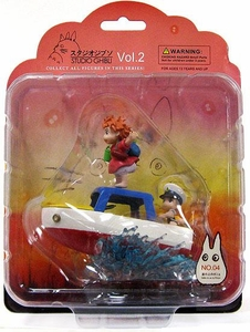 Studio Ghibli Diorama Collection Volume 2 Ponyo on a Cliff