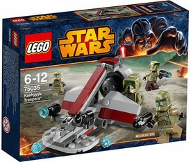 LEGO Star Wars Set #75035 Kashyyyk Troopers New!
