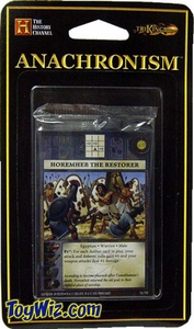 Anachronism Card Game Warrior Pack Egyptian Horemheb the Restorer BLOWOUT SALE!