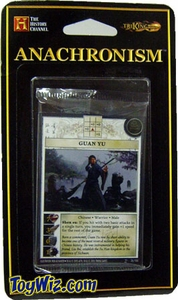 Anachronism Card Game Warrior Pack Chinese Guan Yu BLOWOUT SALE!