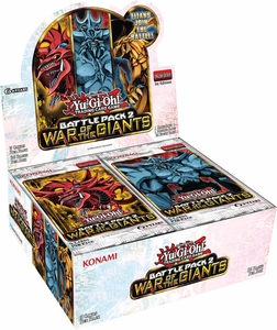 YuGiOh War of the Giants: Battle Pack Booster BOX [36 Packs]