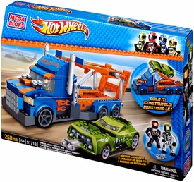 Hot Wheels Mega Bloks Set #91718 Urban Agent Stunt Rig