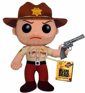 Funko POP! Walking Dead Plush Figure Rick Grimes