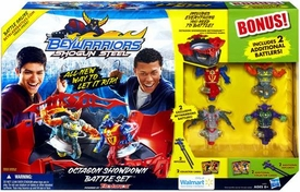 Beyblades Beywarriors Shogun Steel Exclusive Octagon Showdown Battle Set [Includes 2 Additional Battlers!]