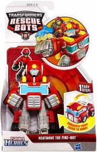 Transformers Rescue Bots Action Figure Heatwave The Fire-Bot