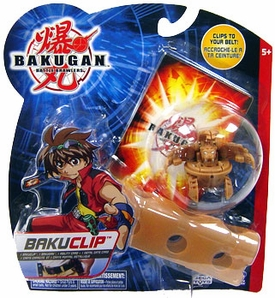 Bakugan B2 Bigger Brawlers Brown Bakugan Clip [Random Bakugan Figure]