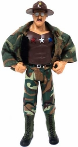 WWE Wrestling Classic Superstars Toyfare Exclusive Limited Edition LOOSE Action Figure All American Sgt. Slaughter