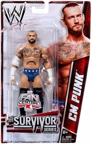 Mattel WWE Wrestling Survivor Series Exclusive Action Figure CM Punk BLOWOUT SALE!
