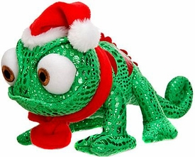 Disney Tangled Exclusive 8.5 Inch Bean Plush Figure Chameleon Holiday Pascal