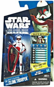 Star Wars 2011 Clone Wars Action Figure CW No. 49 Riot Control Clone Trooper [Riot Gear]