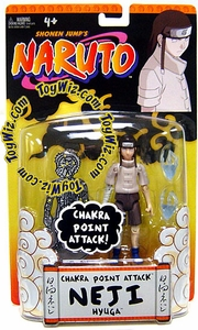 Naruto Mattel Training Deluxe Action Figure Chakra Point Attack Neji Hyuga