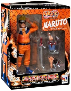 Megahouse Collective File DX Naruto PVC Figure Naruto