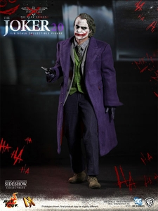 Batman Dark Knight Hot Toys Movie Masterpiece 1/6 Scale Collectible Figure DX-11 Joker 2.0