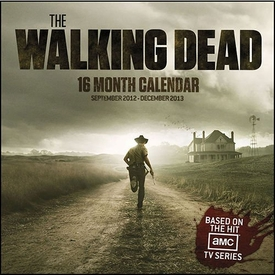 NECA 16 Month Wall Calendar The Walking Dead [September 2012 - December 2013]
