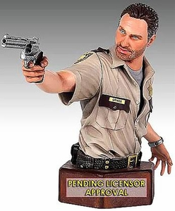 Walking Dead TV Series Gentle Giant Mini-Bust Rick Grimes Pre-Order ships March