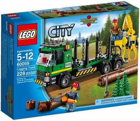 LEGO City Set #60059 Logging Truck