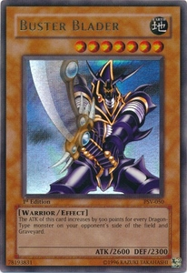 YuGiOh Pharaoh's Servant Single Card Ultra Rare PSV-050 Buster Blader