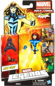 Marvel Legends 2013 Series 2 Action Figure Jean Grey {Jim Lee 1990's Outfit} [Build Rocket Raccoon Piece!]