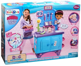 Disney Doc McStuffins Playset Deluxe Get Better Check-Up Center [Bonus Lab Coat & First Aid Kit]