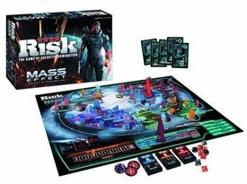 Risk Collectors Edition Board Game Mass Effect Galaxy At War New!