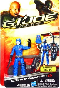 GI Joe Retaliation Movie 3.75 Inch Action Figure Ultimate Cobra Commander
