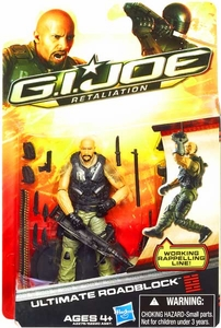 GI Joe Retaliation Movie 3.75 Inch Action Figure Ultimate Roadblock [The Rock!]