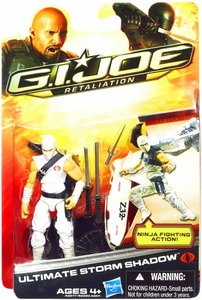 GI Joe Retaliation Movie 3.75 Inch Action Figure Ultimate Storm Shadow