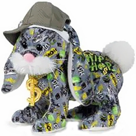 Webkinz Plush Rockerz Hip Hop Bunny