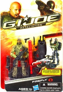 GI Joe Retaliation Movie 3.75 Inch Action Figure Ultimate Firefly