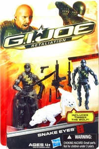GI Joe Retaliation Movie 3.75 Inch Action Figure Ultimate Snake Eyes