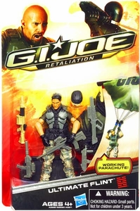 GI Joe Retaliation Movie 3.75 Inch Action Figure Ultimate Flint