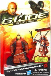 GI Joe Retaliation Movie 3.75 Inch Action Figure Budo Samurai Warrior