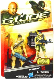 GI Joe Retaliation Movie 3.75 Inch Action Figure Kwinn