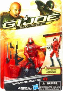 GI Joe Retaliation Movie 3.75 Inch Action Figure Crimson Guard