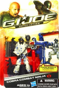 GI Joe Retaliation Movie 3.75 Inch Action Figure Cobra Combat Ninja